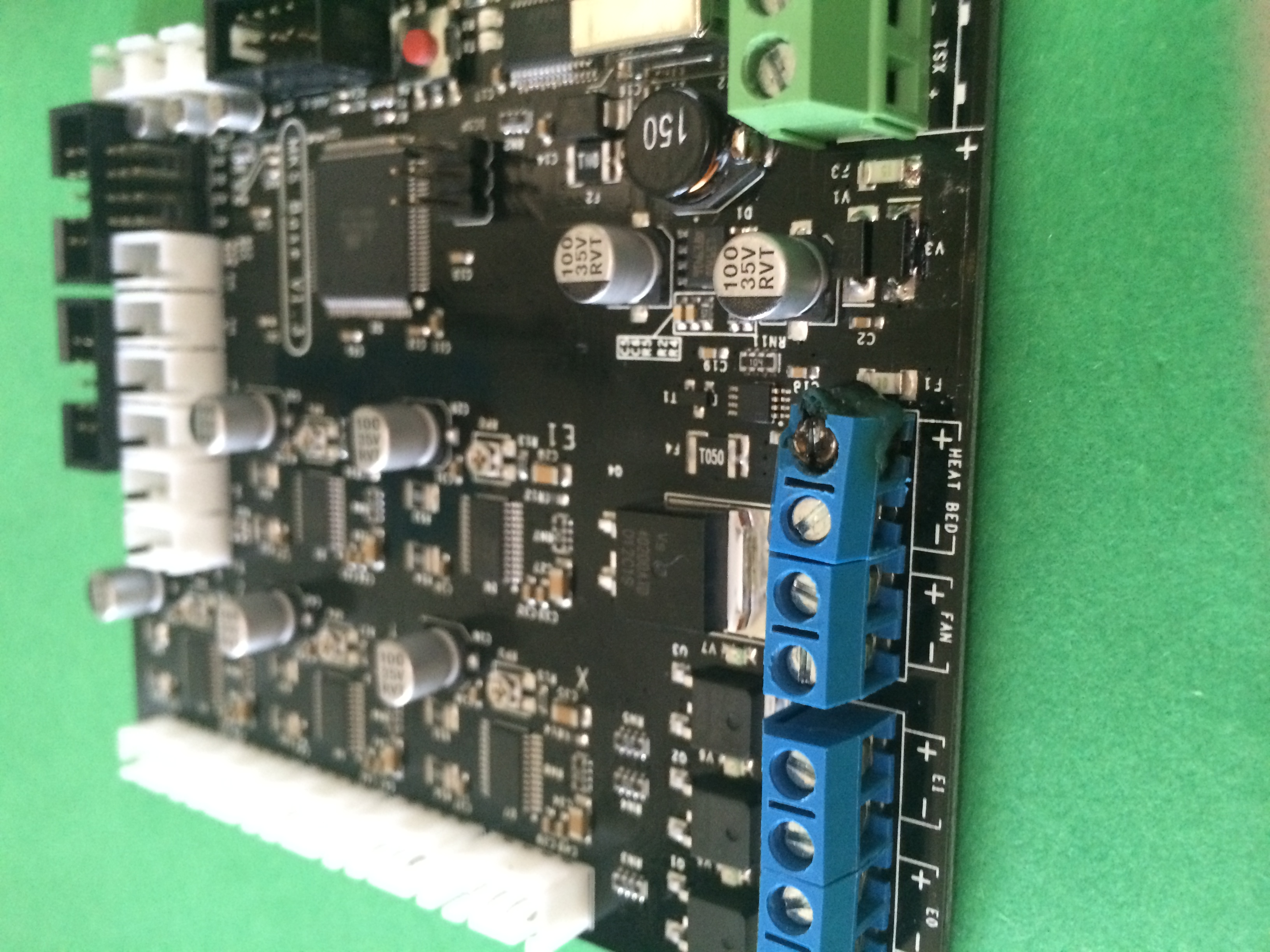 Fried Control Board - Bed Heater Connection.JPG